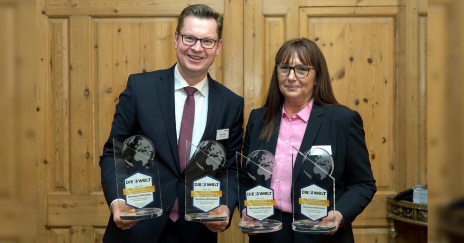 Sparkasse Südholstein als beste Bank in Schleswig-Holstein ausgezeichnet – Tester geben ihr Top-Noten für Beratungsqualität
