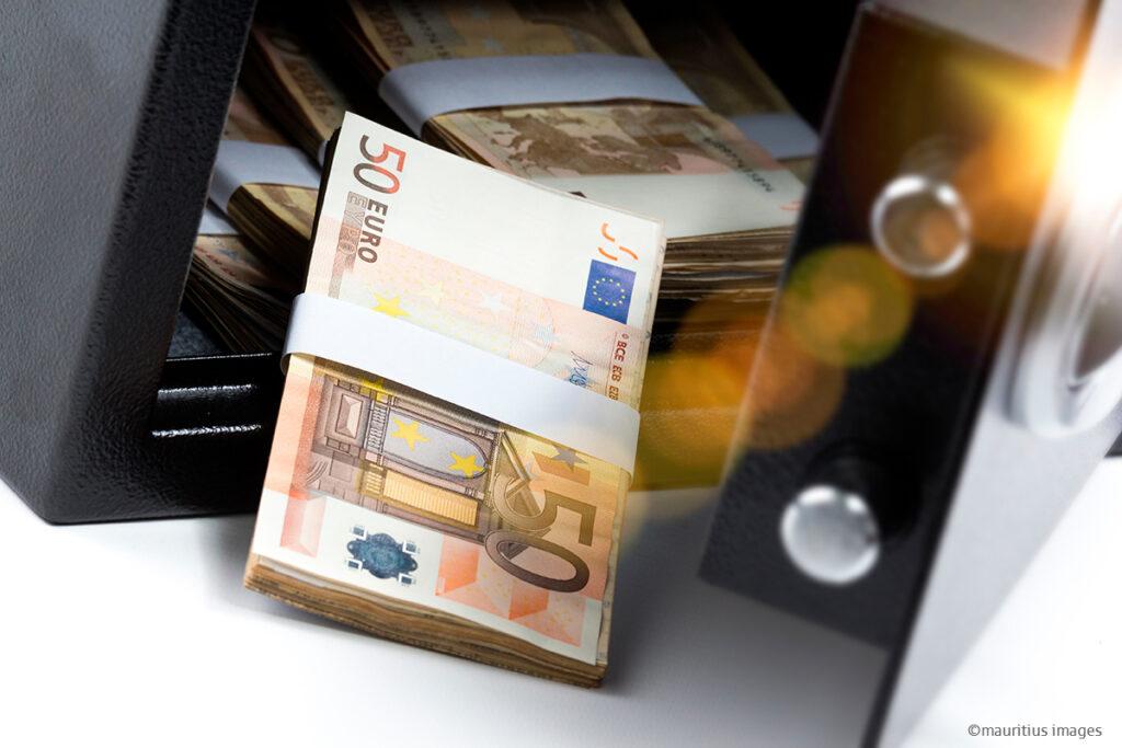 bargeld zu hause aufbewahren