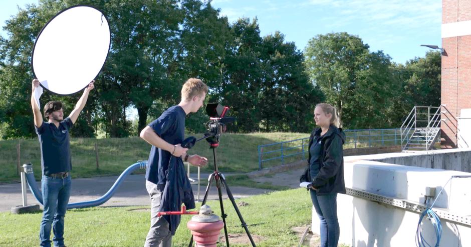 Abwasser-Zweckverband (AZV) jetzt auch digital erlebbar – Stiftung der Sparkasse Südholstein fördert Erklär-Video zur Abwasserreinigung