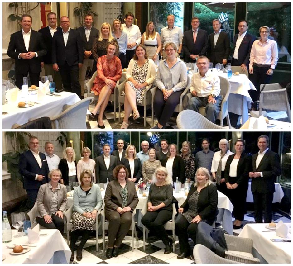 2180 Jahre Sparkassenerfahrung – 71 Mitarbeiterinnen und Mitarbeiter der Sparkasse Südholstein feierten ihr 25- oder sogar 40-jähriges Dienstjubiläum