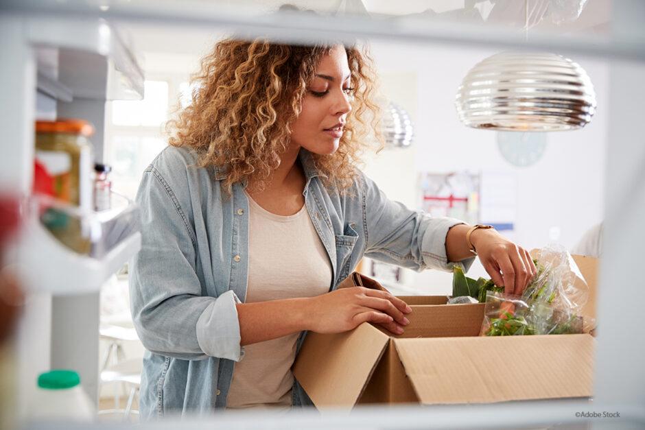 Lebensmittel per App einkaufen